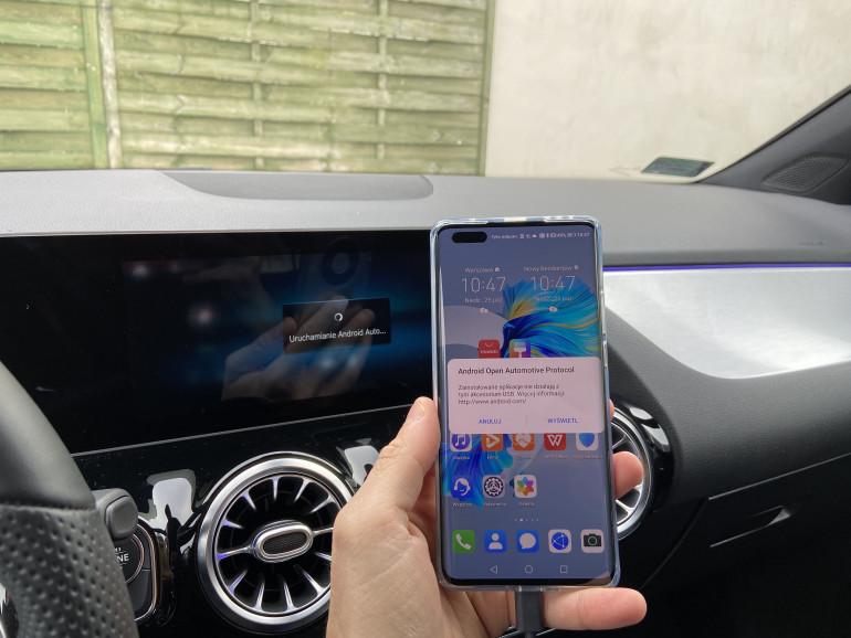Powiadomienie Android Open Automotive Protocol