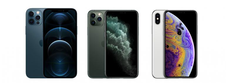 iPhone 12 Pro, 11 Pro oraz Xs