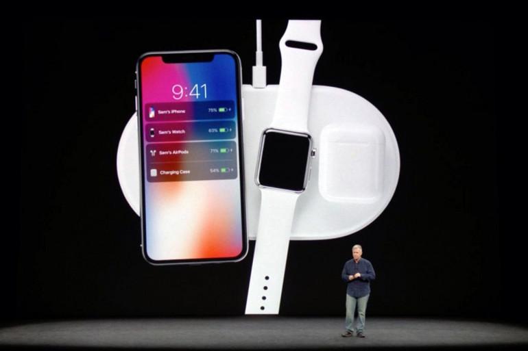 Ładowanie bezprzewodowe iPhone, Apple Watch oraz słuchawek AirPods