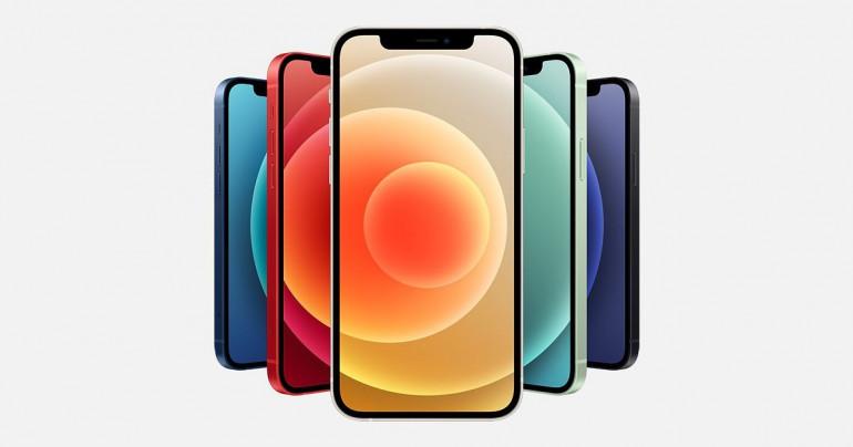 iPhone 12 ze szkłem Ceramic Shield