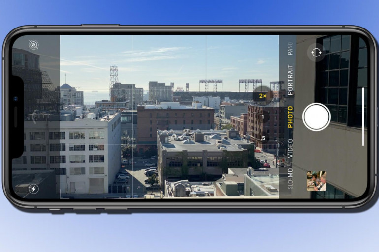 Aplikacja aparatu w iPhone Źródło: macworld.com