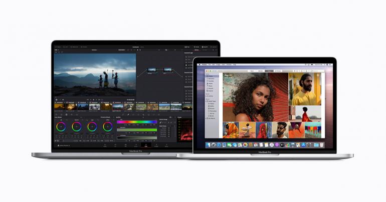 MacBook Pro 13 oraz MacBook Pro 16 z procesorami Intel