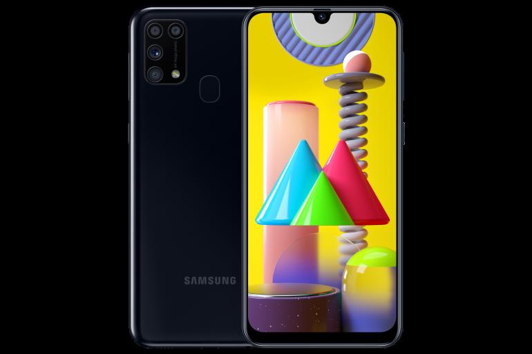 Samsung Galaxy M31 z baterią o pojemności 6000 mAh