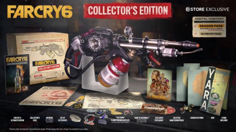 Far Cry 6 edycja kolekcjonerska