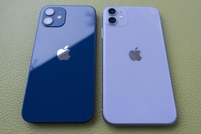 iPhone 12 i iPhone 11 Źródło: macworld.com