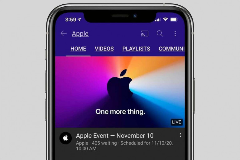 YouTube na iPhone Xs Źródło: macworld.com