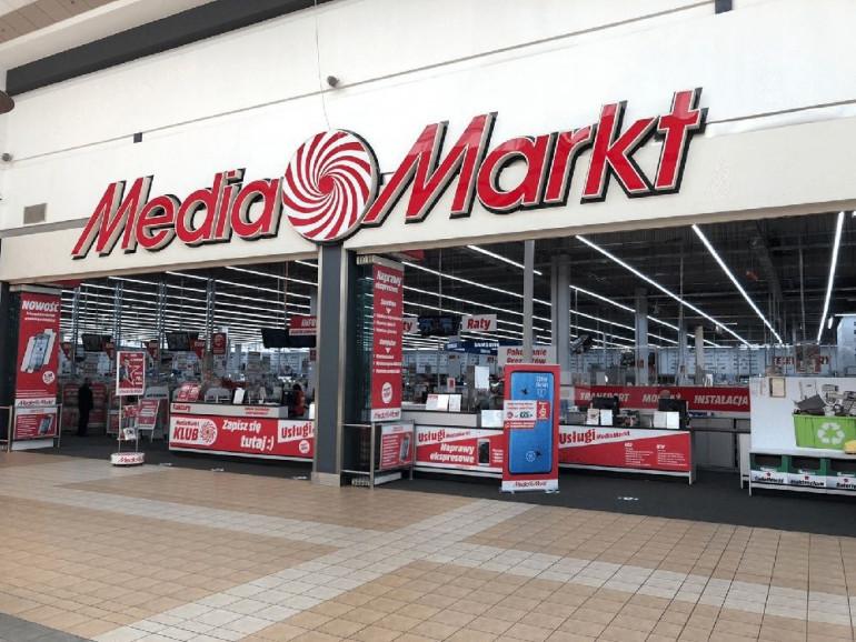 Sklep Media Markt w galerii handlowej