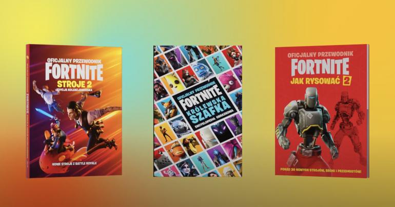 Nowe książki o Fortnite