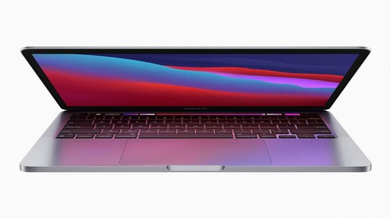 MacBook Pro 13 z systemem operacyjnym macOS Big Sur i procesorem ARM - Apple M1