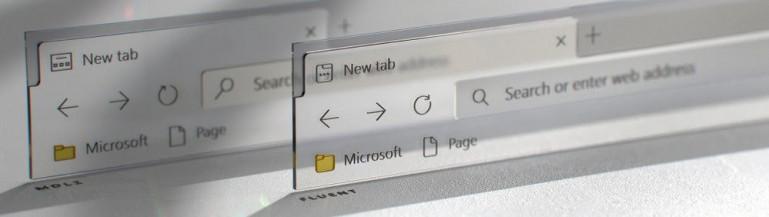 Windows Edge przed i po odświeżeniu Źródło: windowslatest.com