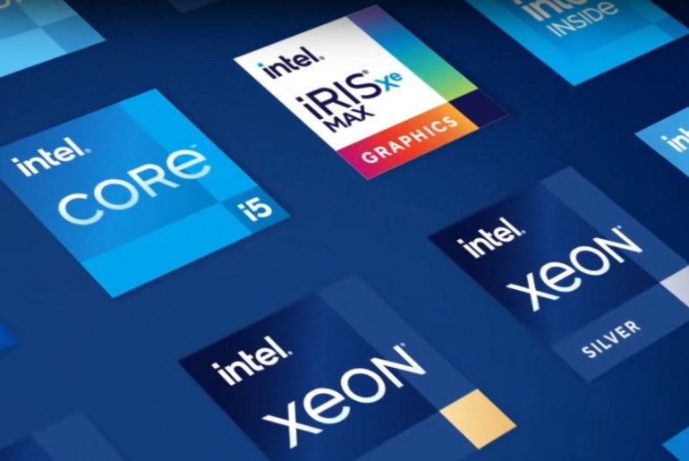 Nowe logotypy Intel'a