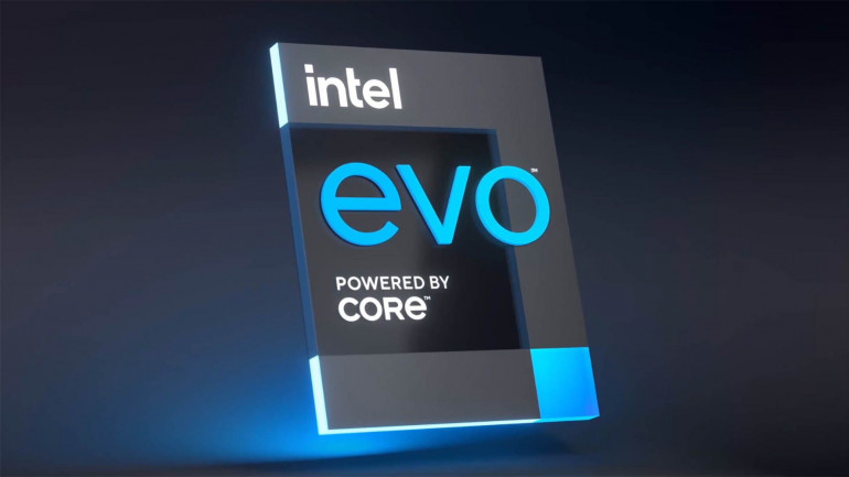 Logotyp Intel Evo