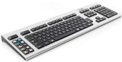 Klawiatura Optimus - wyświetlacze OLED jako klawisze