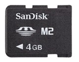 Miniaturowe, 4-gigabajtowe karty od SanDiska