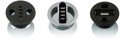 Belkin: dwa nowe huby USB oraz stacja dokująca dla iPoda