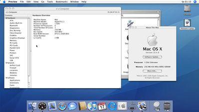 MacOS X uruchomiony na Apple TV