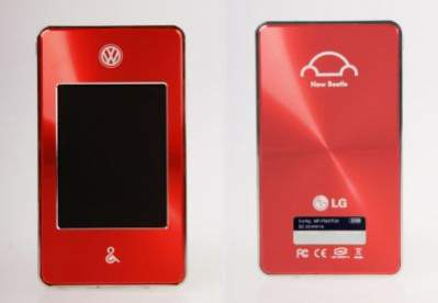 """Muzyczny """"garbus"""" - efekt kooperacji LG i Volkswagena"""