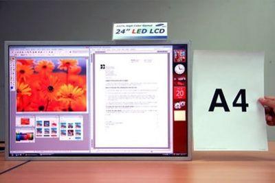 24-calowy panel Samsunga z podświetleniem LED (źródło: www.koreanewswire.co.kr)