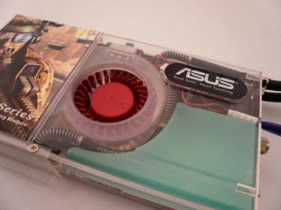 Moduł Aquatank zawiera także radiator i wentyaltor chłodzący przepływającą ciecz