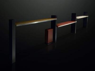 """KAKERU"" Shelf with Built - in Speaker"