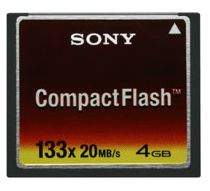 Sony 133x CompactFlash