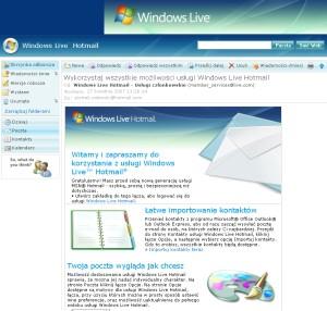 Microsoft: 2GB skrzynki e-mail po polsku