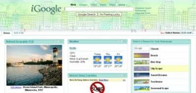 iGoogle - nowa strona startowa