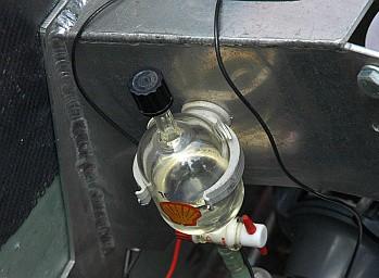 """Tak wygląda zbiornik paliwa """"Kropelki""""."""