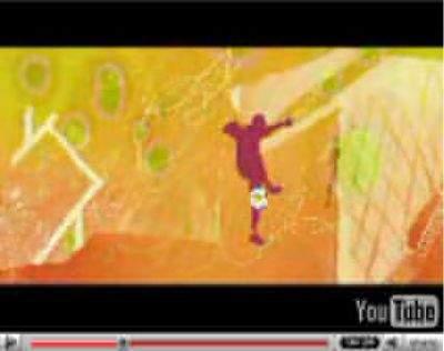 Kadr z polsko-ukraińskiej prezentacji kandydatury do organizacji Euro 2012 (źródło: YouTube)
