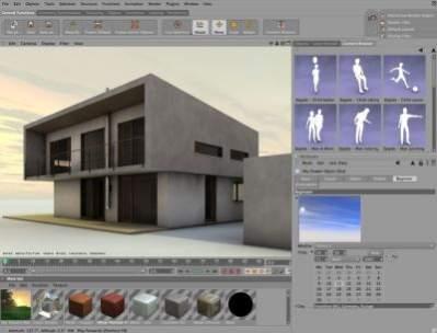 Cinema 4D Architecture 10
