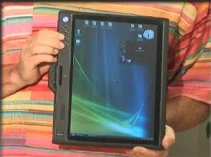 Prototypowy tablet PC Della