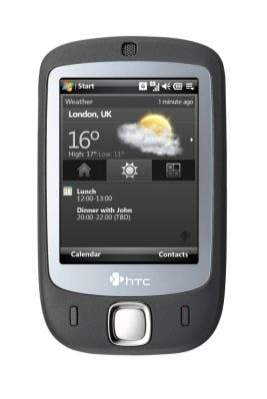 Nowy smartphone High Tech Computer - Touch
