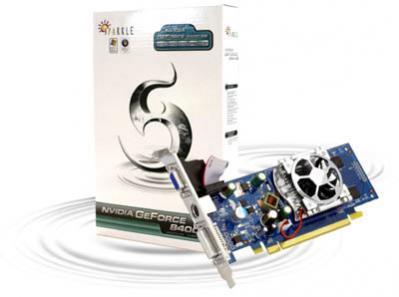 Nowość Sparkle bazująca na GeForce 8400 GS