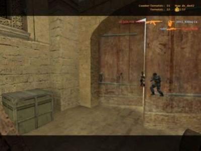 Wallhack w grze Counter-Strike