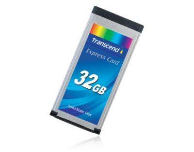32-gigabajtowy dysk SSD z interfejsem ExpressCard