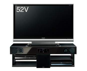 AN-ACX2 z telewizorem AQUOS LC52GX3W