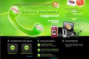Ciekawy serwis zielonasluchawka.pl