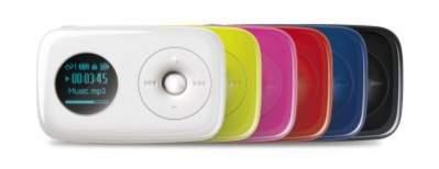 Odtwarzacze dostępne są w kilku wariantach kolorystycznych. Najładniej prezentują się czerwona i czarna.