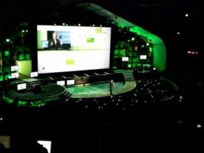 Konferencja Microsoftu. Źródło: GamePro