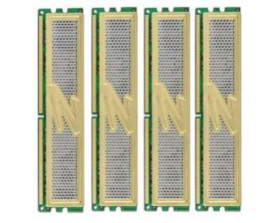 DDR2 PC2-6400 Gold Quad Kit