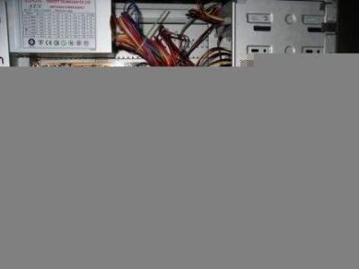 Wnętrze starego komputera naszego laureata