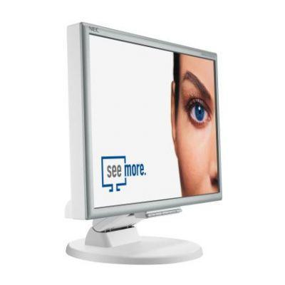 """Zintegrowane głośniki w monitorze NEC-a sprytnie ukryto. Znajdują się na """"plecach"""" ekranu"""