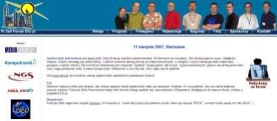Strona IV Zlotu Forum IDG.pl
