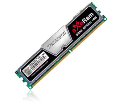 DDR2-800 aXeRam Overclocking