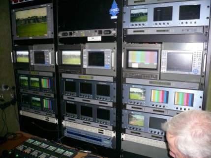 Pokój techników - podgląd obrazu z kamer i optymalizacja jakości obrazu