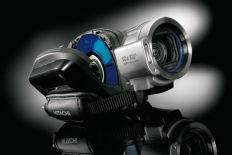 Hitachi DZ-BD7HE z nagrywarką Blu-ray i twardym dyskiem.