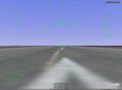 Symulator lotu w Google Earth