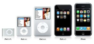 iPod touch - Wi-Fi i dotykowy ekran w odtwarzaczu