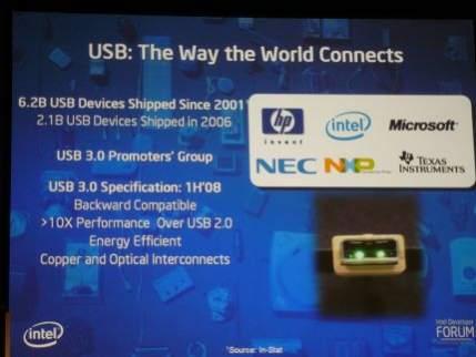 Założenia nowej wersji standardu USB 3.0