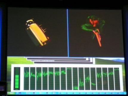 Prezentowany komputer wyposażony był w dwa 4-rdzeniowe procesory Nehalem komunikujące się za pośrednictwem nowego interfejsu Quick Path. Jako, że procesor ma wbudowany Hyper Threading może przetwarzać 16 wątków jednocześnie